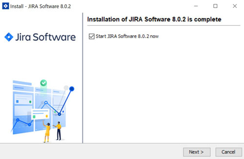 JIRA installation on windows