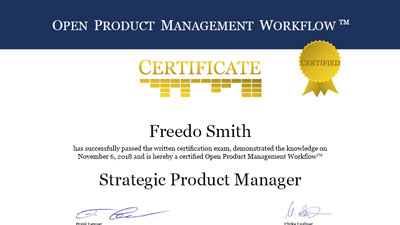 Product Management Certification